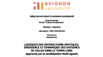 Soutenance de thèse / Mickaël FERRI